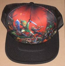 Official Legend of Zelda Ocarina of Time Trucker Cap Hat Baseball BNWT Licensed