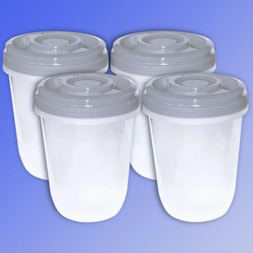 4er set 1 litros multiusos lata sujeción frescos lata refrigerador lata microondas lata