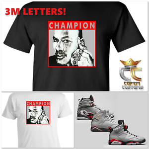 EXCLUSIVE-TEE-T-SHIRT-2-W-3M-to-match-AIR-JORDAN-RELECTIONS-OF-A-CHAMPION-BREDS