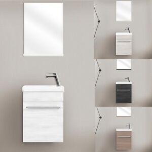 Mobile arredo bagno 42 cm sospeso disponibile in 4 colori specchio ...