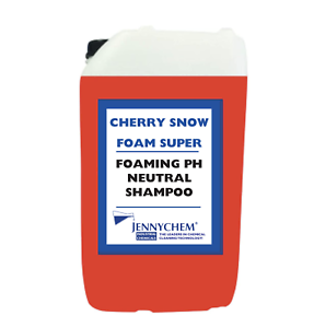 Jennychem CHERRY HI FOAM SNOW FOAM SHAMPOO 25 Litre Drum Car Vehicle Wash 25L