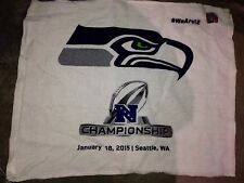 SEATTLE SEAHAWKS 2015 Sga Ticket Holder Only NFC championship towel 1/18 Packers