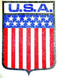 "Vintage 1974 Roach ""U.S.A."" Shield Iron-on Transfer"