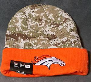 2aa879da1db5fd NFL Denver Broncos New Era Digital Camo Knit Beanie Hat Football ...