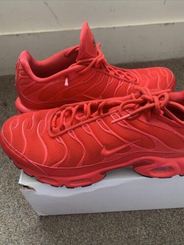 Nike Air Max Plus TN Light Crimson Red Black White