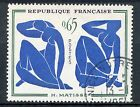 STAMP / TIMBRE FRANCE OBLITERE N° 1320 TABLEAUX MATISSE