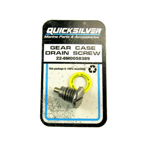 Genuine Mercruiser Magnetic Gear Case Drain Screw Alpha Gen 2 1991-22-8M0058389