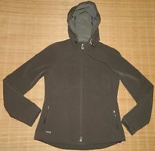 Lole Lightweight Wicking Stretch Softshell Hooded Active Jacket UPF 50+ M Brown