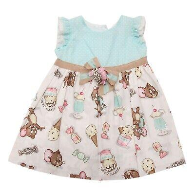 Neugeborene Kleinkind Baby M?dchen Langarm-Blumendruckkleid Outfits Kleidung MOIKA Babykleider f/ür M?dchen, 12Monate-5Years Old