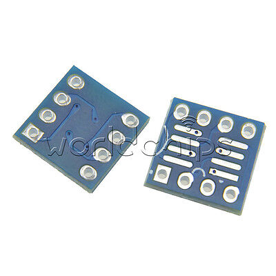 20pcs SOP8 SO8 SOIC8 TSSOP8 MSOP8 to DIP8 Adapter PCB DIY Conveter Board new