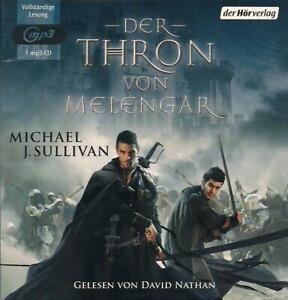 Michael-J-Sullivan-Der-Thron-von-Melengar-1-mp3-CD-NEU-Hoerbuch-TOP-Fantasy