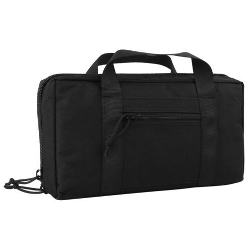 Tactical 2 Pistol Case Range Bag Pistol Case Handgun Bag Magazine Pouch Storage