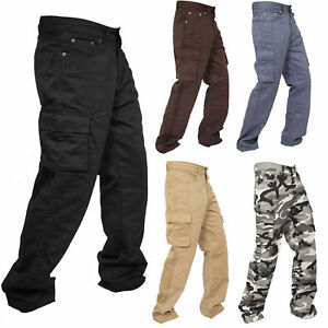 New-Motorcycle-Working-Cargo-Trousers-Jeans-Pants-With-Aramid-Protective-Lining