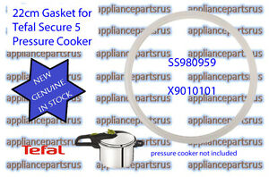 Tefal-Secure-5-Pressure-Cooker-Gasket-Part-X9010101-SS980959-NEW-GENUINE