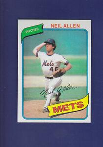 Neil-Allen-RC-1980-TOPPS-Baseball-94-MINT-New-York-Mets