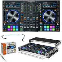 Denon Dj Mc7000 Professional Dj Controller & Mixer & Odyssey Flight Case on Sale