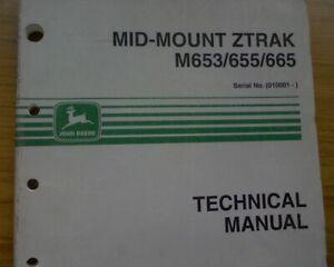 Details about John Deere Ztrak M653 M655 M665 Lawn Mower Repair Manual on am38227 wiring-diagram, john deere z425 wiring-diagram, john deere 777 wiring diagram, john deere gator ignition switch diagram, john deere 757 wiring-diagram,