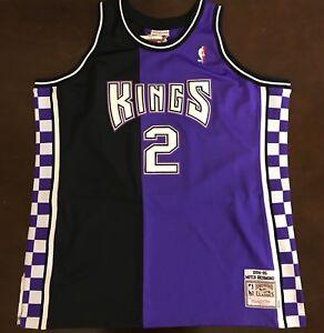 hot sale online 18cc4 5b293 Details about Mitchell & Ness Hardwood Classics NBA Sacramento Kings Mitch  Richmond Jersey