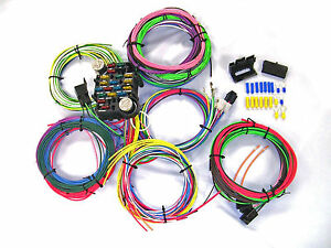 universal gearhead 1964 1965 1966 ford mustang wire wiring harness rh ebay com wiring harness manufacturers in usa wiring harness usage