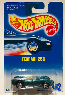 2001 Hot Wheels Collector #218 FERRARI 250 Gray w//Chrome Lace Spoke Wheels