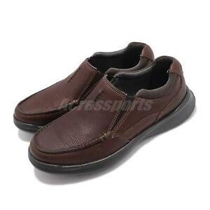 Clarks-Cotrell-Free-Tobacco-Leather-Brown-Men-Casual-Slip-On-Loafers-Shoes