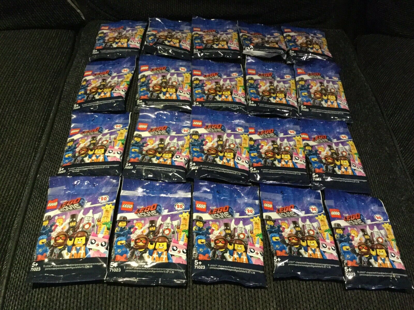 Lego  The Lego Movie 2 Complete Set Of 20 Minifigures New 71023