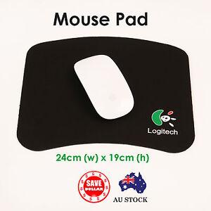 Black-PC-Laptop-Computer-Mouse-Pad-Mat-Gaming-optical-laser-Notebook-Desktop