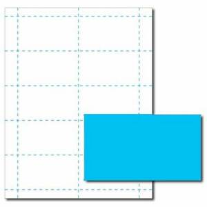 Robins egg blue business card printer paper 50 sheets yields 500 image is loading robin 039 s egg blue business card printer colourmoves