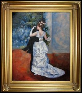 Framed-Quality-Oil-Painting-Repro-Renoir-Pierre-Auguste-City-Dance-20x24in