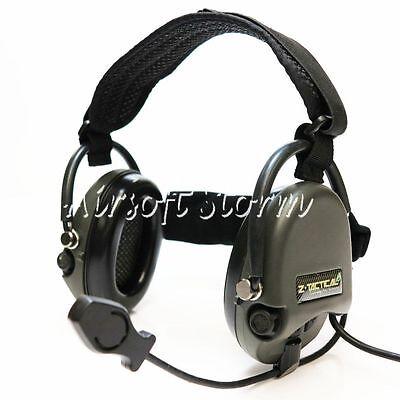 Radio Communication Gear Z Tactical TCI Liberator II Neckband Headset OD/Black