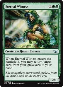 Testimone-Eterna-Eternal-Witness-MTG-MAGIC-C15-Commander-2015-Eng-Ita
