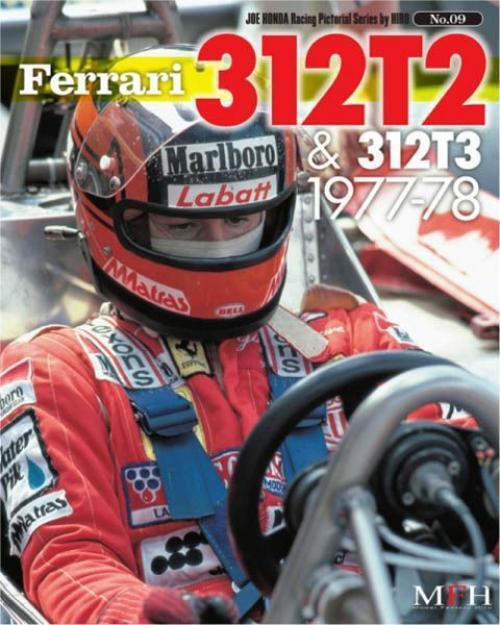 Mfh Buch No9 Ferrariv 312t2 & 312t3 1977-1978 Alle 80 Pages Joe Honda