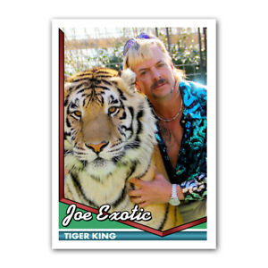 Joe-Exotic-Tiger-King-Custom-Novelty-Baseball-Trading-Card-1990s-Style