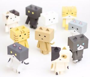 18526f4c6db4 Image is loading Nyanboard-Figure-Collection-Cat-in-Danboard-10pcs-Complete-