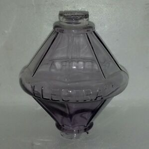 Amethyst Electra Glass Lightning Rod Ball Barn Garden Roof Patio Home Decor