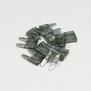 Mini Blade Fuse 2 Amp 2A Amps A ATM Grey Auto Car Van Bike Fuses All Quantities