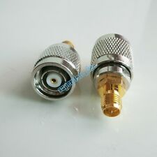 1Pcs RP-SMA RPSMA Female To RP-TNC RPTNC male RF Adapter Antenna Router Golden