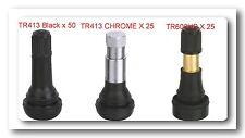 TIRE VALVE STEMS ASSORTMENT (TR413 /TR413 Chrome /TR600 High Pressure)=100 pcs