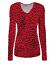 Womens-Ladies-Girls-Plain-Long-Sleeve-V-NECK-T-Shirt-Top-Plus-Size-Tops-Shirt thumbnail 4