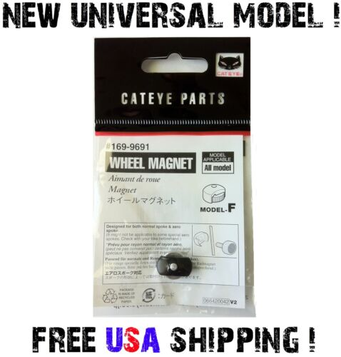 UNIVERSAL Bike Wheel Magnet Speed Sensor for ANY Bicycle Spoke Aero or Regular