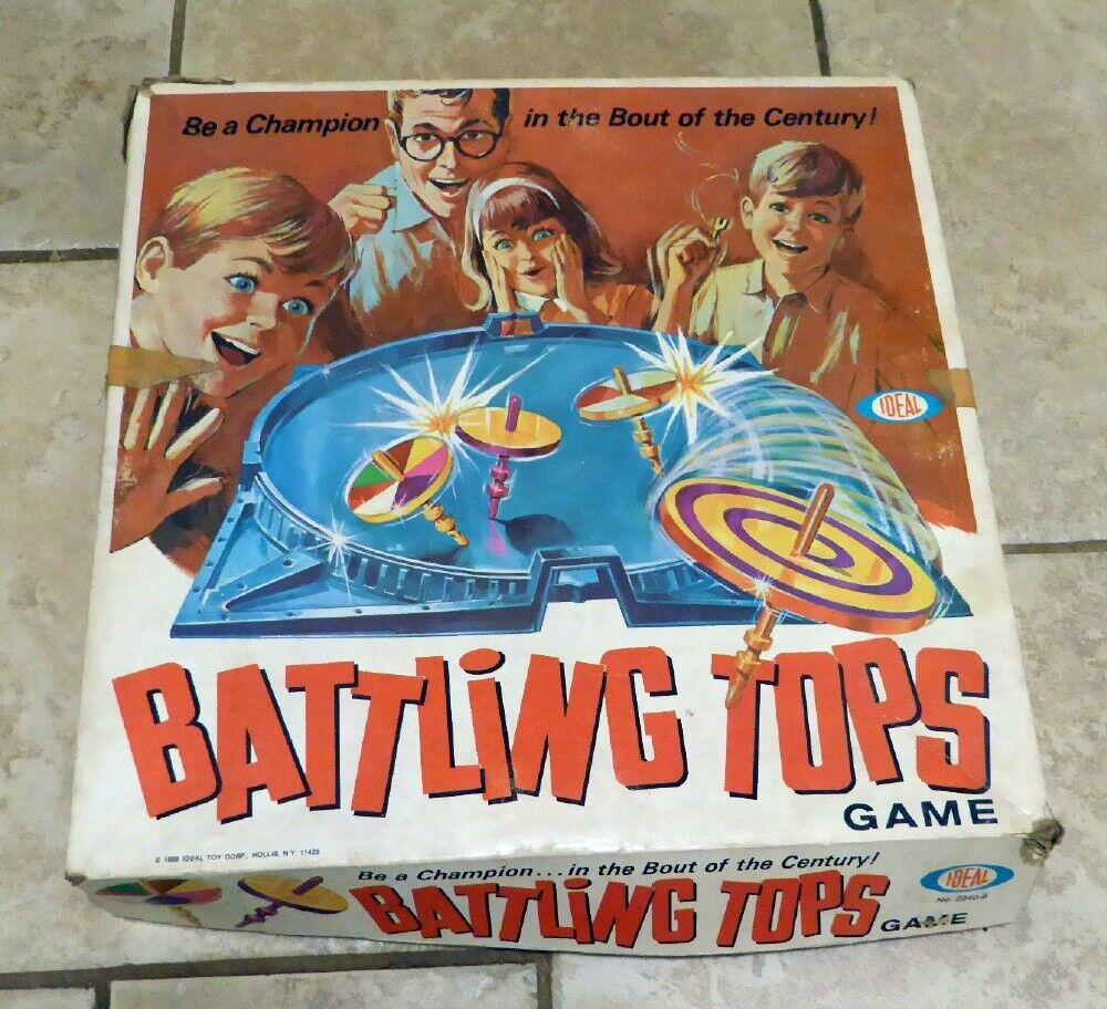 VTG 1969 Family GameBATTLING TOPSIDEALNO. 2340-82 to 4 Players