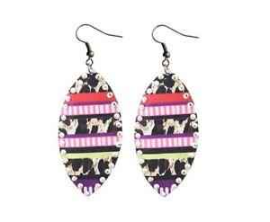 Cheetah earrings lightweight
