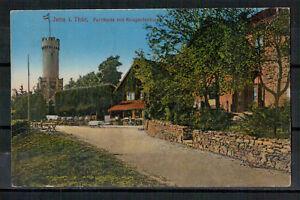 Ansichtskarte-Jena-Thueringen-Forsthaus-Kriegerdenkmal-1930