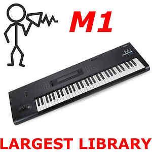 Details about Korg M1 M1rex M1ex 15,000+ Largest Sounds Programs Patches  SysEx Library