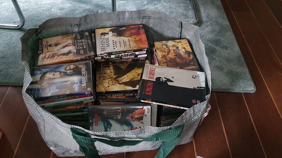 Forskellige, DVD, action