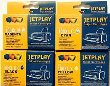 4 jetplay Cartucce di inchiostro per Lexmark 100XL S305 IMPACT interpretare STAMPANTE S405