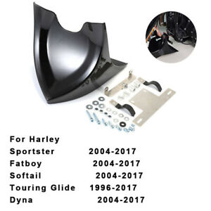 Chin-Fairing-Front-Spoiler-Mudguard-For-Harley-Dyna-Fatboy-Softail-Touring-Glide