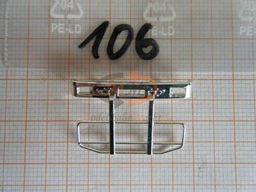10 x pieza de repuesto albedo enormemente rammschutz Front rejilla protectora volvo h0 1:87-0106