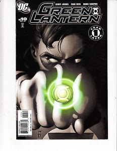 Green-Lantern-10-2006-nm-2nd-Variant-cover-HTF-low-print-run-DC-Comics-Johns