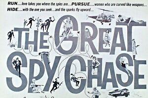 THE-GREAT-SPY-CHASE-pressbook-Lino-Ventura-Bernard-Blair-Francis-Blanche